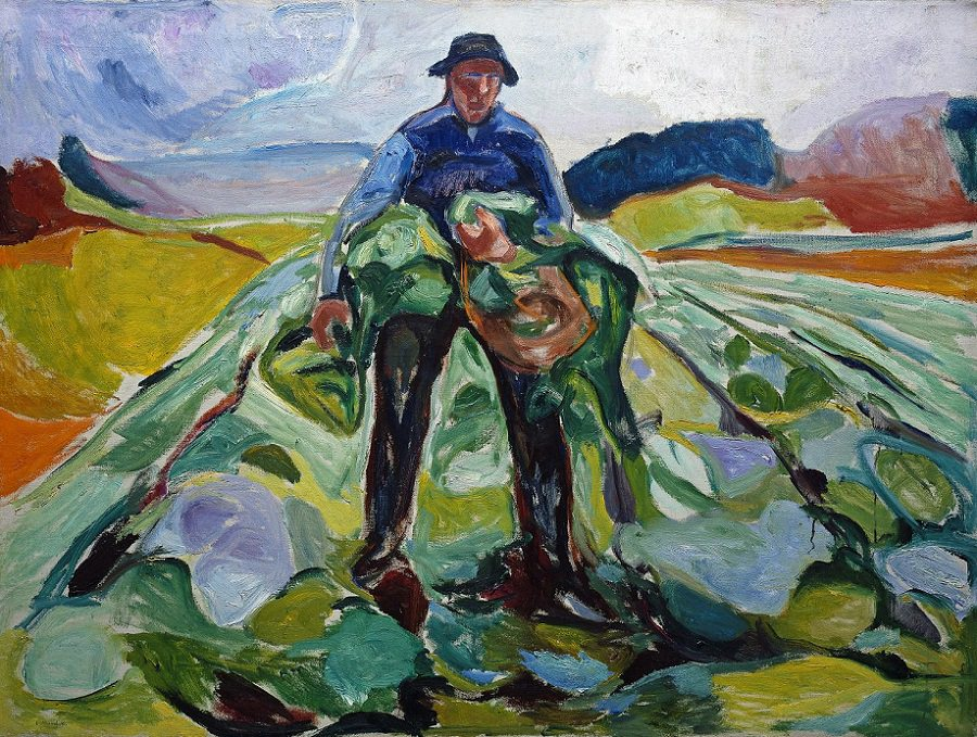 Edvard Munch-Man-in-a-cabbage-field-1916.jpg