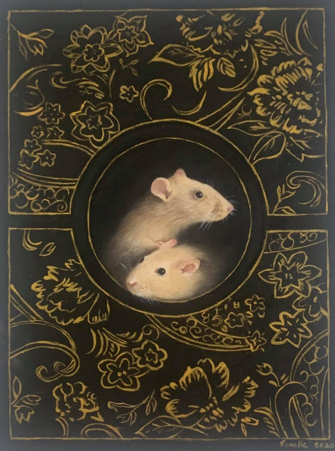 Ronel Lourens - Year of the Rat II Oil on canvas, 40 x 30 cm.jpg